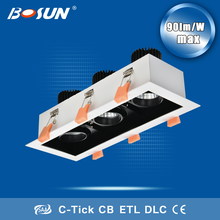 Hot sale led 30w module moving lamp 3*7w grille light with 3000K- 6000K
