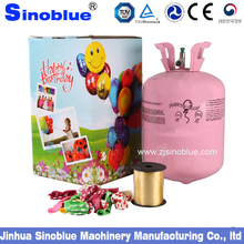 Hand-held 22.4L helium tank balloons with helium gas ,helium cylinder
