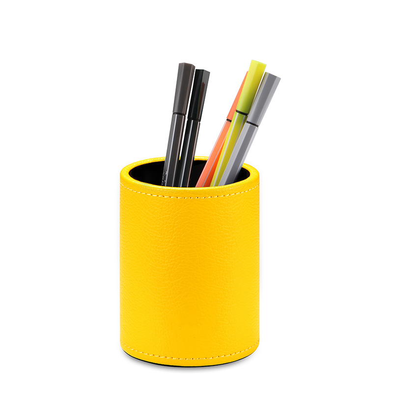 Discount price pen container with 7 color options