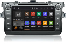 Corolla 2007-2011 Android 4.4 7inch car dvd player with gps