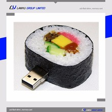 Food shape usb key 1gb/2gb/4gb full capacity PVC usb flash drive custom usb flash drive