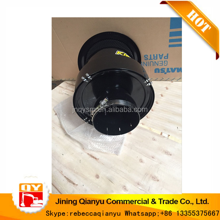 QIANYU 423-09-H4070 pre-cleaner for WA380-6 loader engine exhaust system parts