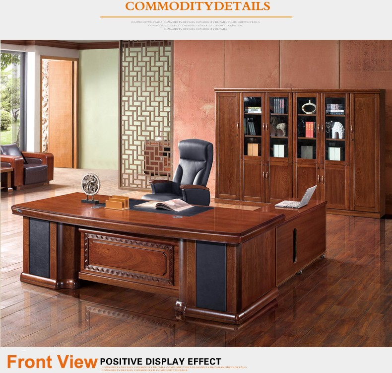 2016 Hot Sale Solid Wood Veneer Office Furniture Office Table With Photos B