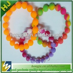 custom silicone teething bracelets