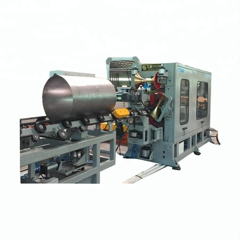 210L 1pc/min metal/steel barrel production line