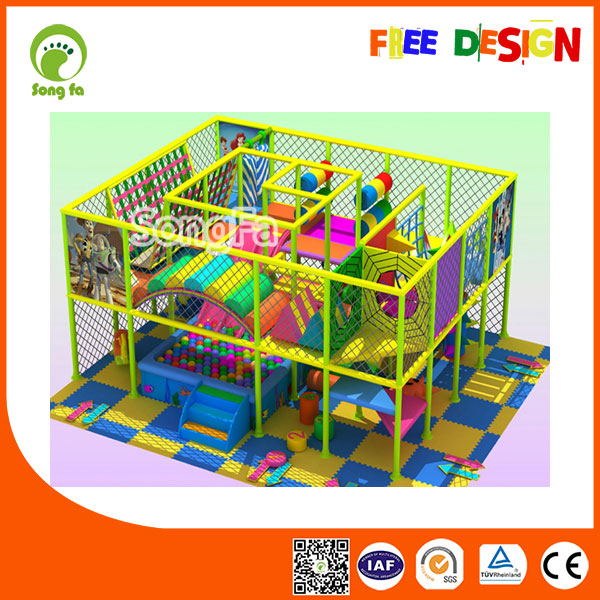 Funland Kids Attractions Commercial Indoor Playground Equipment Small For Sale