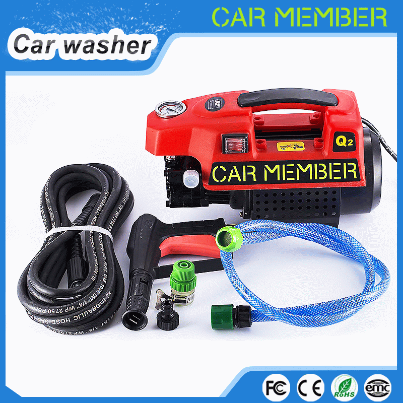 CAR MEMBER 2016 sale hot electric high pressure washer with change water power car washer for washing car for cleaning