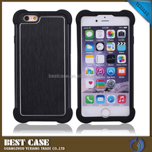 combo armor metallic case for apple iphone6 cover
