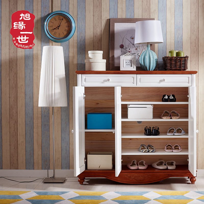Living room furniture 5 layers wooden shoe storage cabinet
