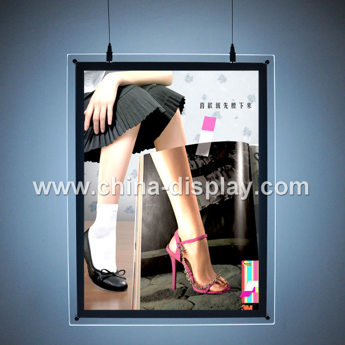 Hanging Type <strong>Advertising</strong> Light Box Frameless Led Light Box
