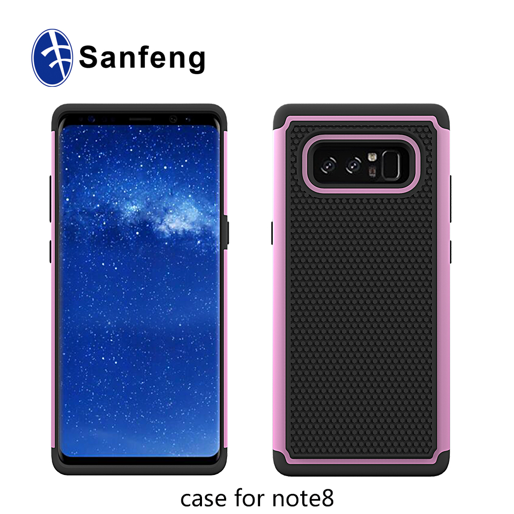 For Samsung Galaxy Note 8 mobile phone accessories custom silicone phone case