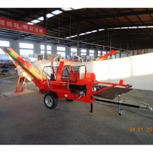 Automatic 7Ton Gasoline Wood Processor with Conveyor Log Splitter 520GC