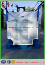 1 ton 1.5 ton big bag , jumbo bag with baffle, fibc bag used without pallet, more conveniently, pack for sand,cement,lime