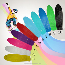 PP material and plastic skateboard Type plastic deck Skateboard accessories