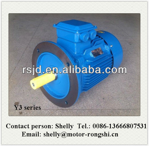 EXCELLENT PERFORMANCE B5 Y3 series 3 phase 15hp boat motor with CE