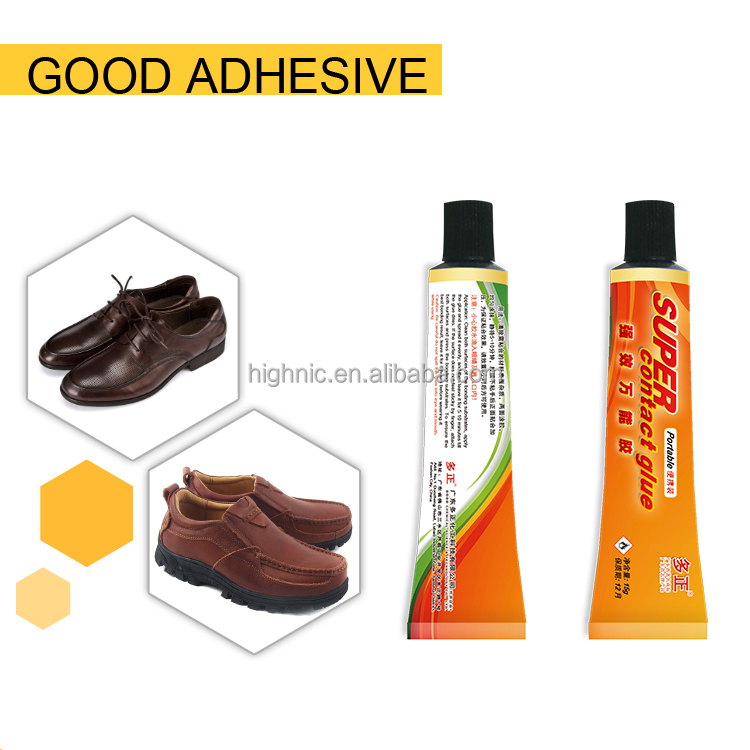OEM offered colorless bulk super shoe glue for shoe fix and repair