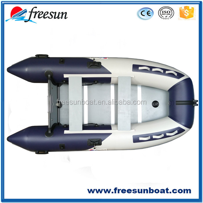 Freesun brand cheap inflatable boat with pump and oars
