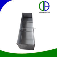 Pig farm equipment stainless steel feeder trough feeder