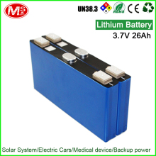 3.7V 26Ah lithium battery pack for power storage system MS2317493