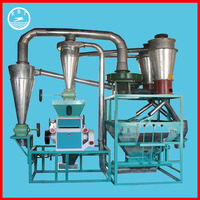 China manufacturer low price complete automatic rice flour mill machine