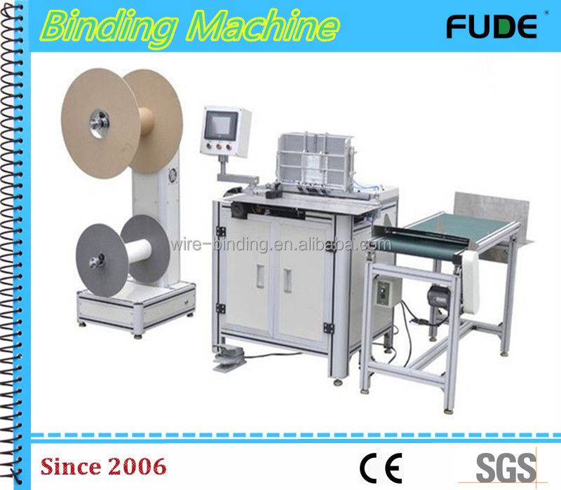 520 semi-automatic double wire binding machine