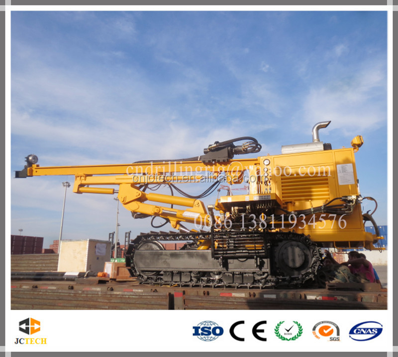 Competitive Product DTH Track Hydraulic Drilling Rig for mines and quarries