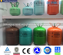 Bright color gas bottle with nice modeling for helium balloon inflating for events