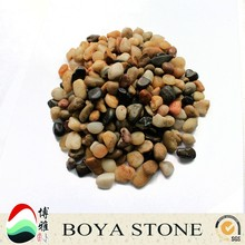 Factory best price fluorescent pebble stone