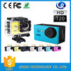 2015 New waterproof 20m hd 2.0 TFT touch screen mini sport dv camera sports action video camera sport camera