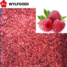 IQF Frozen Raspberry crumbles with BRC