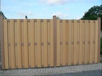 Convenient Wood Plastic Composite Fence Panels