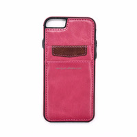 Wholesale Leather Cell Phone Case, Mobile Leather Wallet Case for iPhone 6/6s