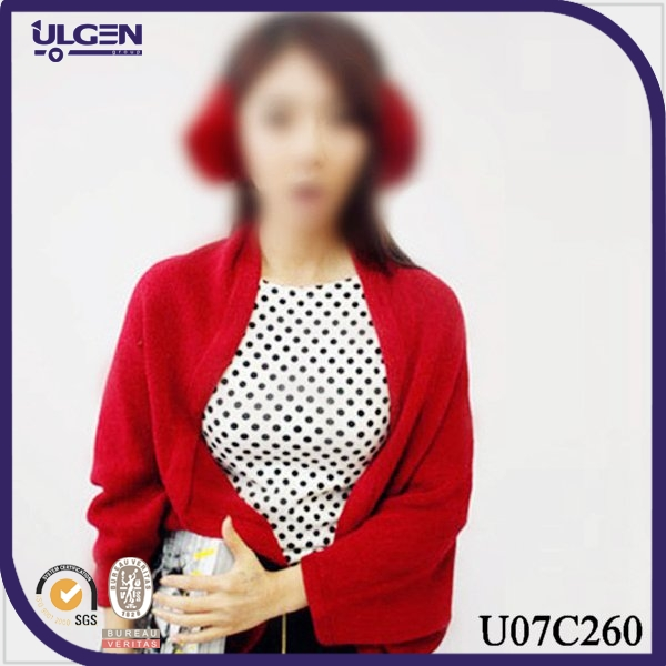 wholesale ladies winter warm knitting sleeve shrug