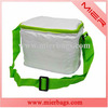 promotion cheap white 420D polyester insulated lunch cooler bag for food or beer can