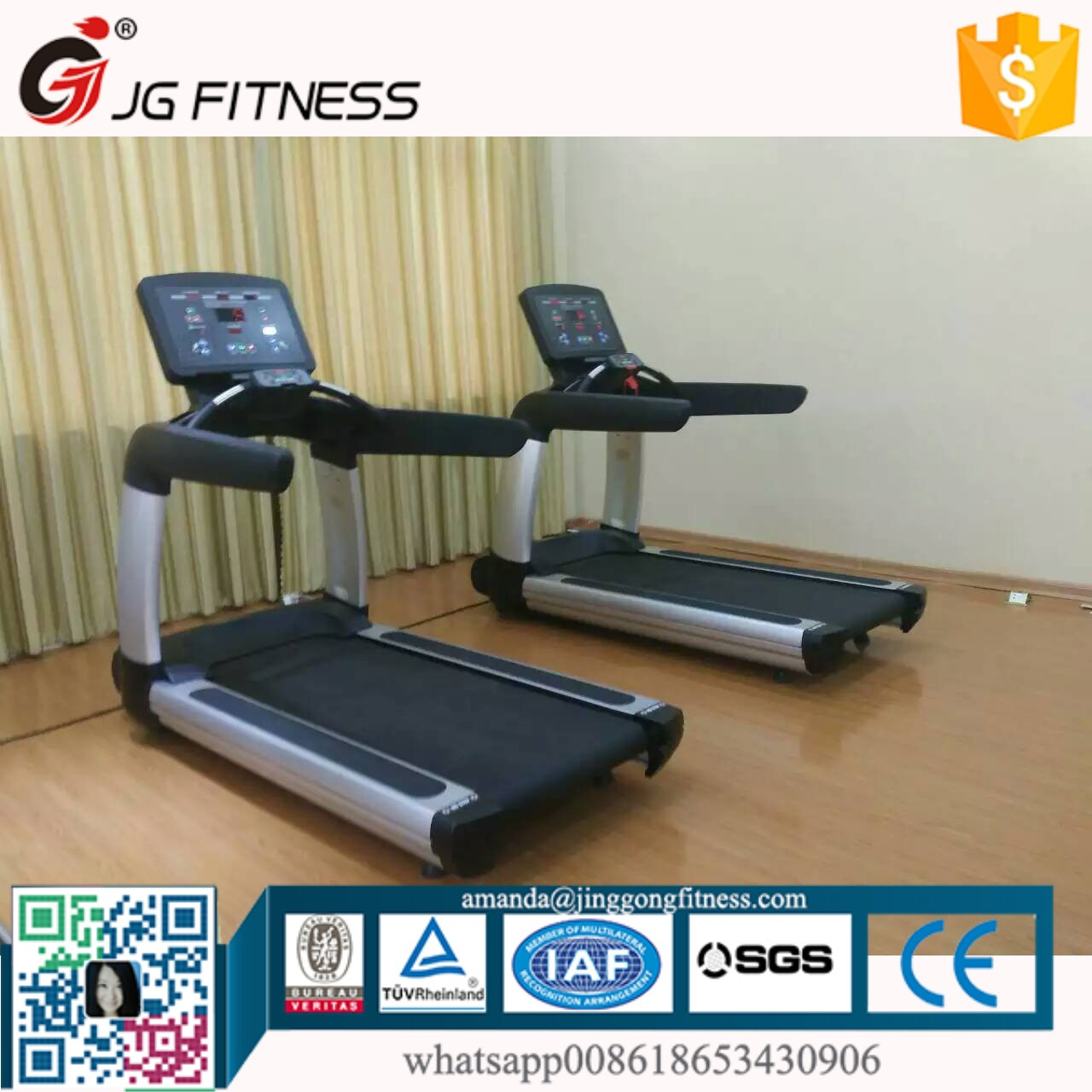 CE Certified crane sports treadmill China Factory