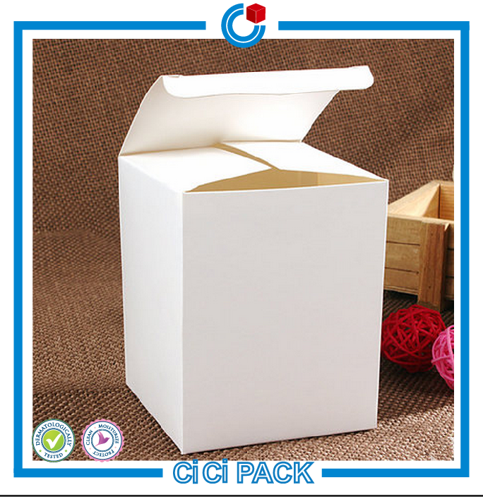 Hot sale high quality universal white paper printing handling packing carton