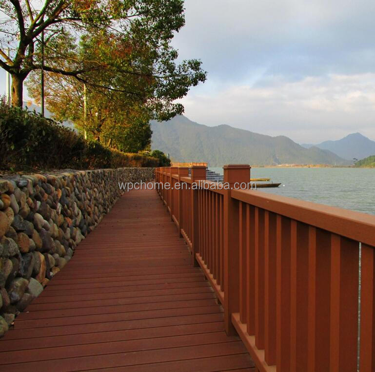 For Decking Balcony Outdoor Use Terrace Walkway Floor Water Proof WPC Deck