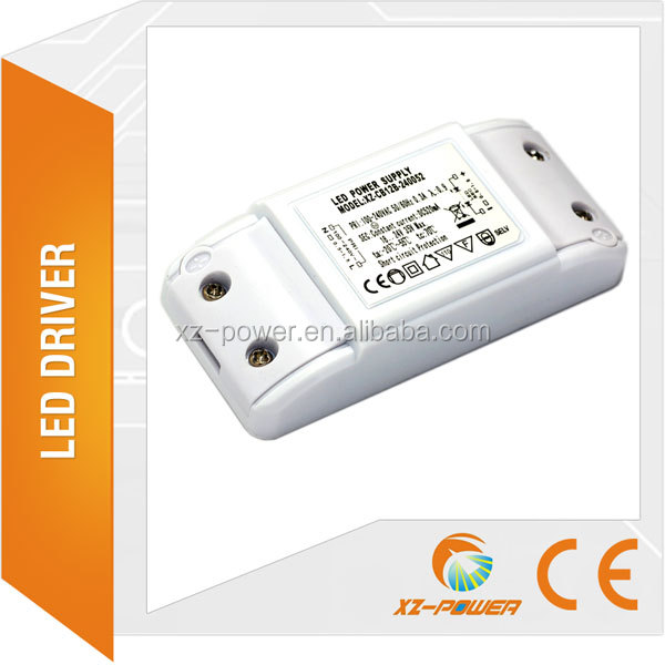 XZ-DD12B high quality energy conservation dimmable led driver 24v