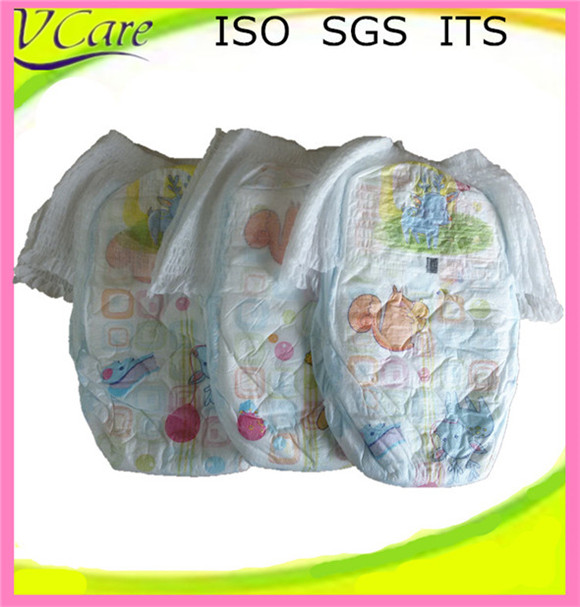 China wholesaler training lovely design baby pants diaper