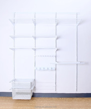 Simple Househould Closet Wire Shelving Furniture Modern Design Metal Bedroom Wardrobe furniture