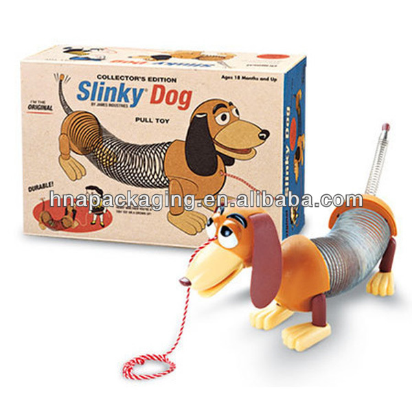 dog toy lunch paper box -gift paper box