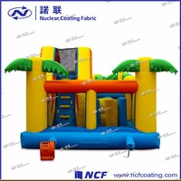 0.55mm PVC Tarpauline Kid's Ship Cheap Inflatable Bouncers For Sale