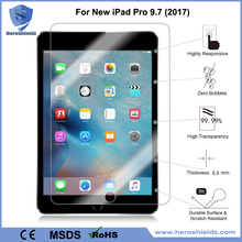 Anti-Scratch Tempered Glass Tablet Screen Protector For New iPad Pro 9.7 in 2017/iPad Air 2/iPad Pro 9.7, Anti-Fingerprint Glass