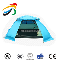 Seperately outer sunshade and inner mesh net family tourist tent