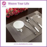 ZNZ pvc table cloth/table mat/placemat 2014 new design china supplier