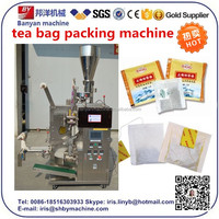 Hot sale! Tea bag Packing Machine with Thread,Tag and Outer Envelope with ce