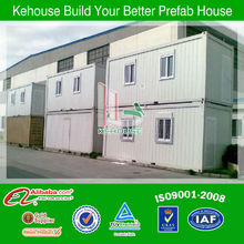 Low cost stable color steel portable movable modular container houses office