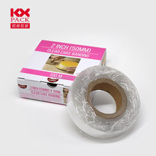 Food Grade Clear Cake Banding Plastic Roll Film For Cake Packing