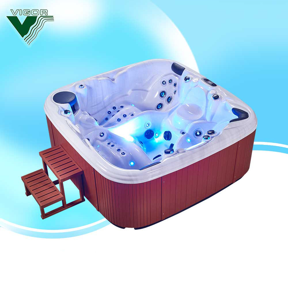 Factory China Supplier outdoor spa/sex spa hot tub /massage bathtub