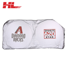 High Quality And Fancy Customized Advertising Car Sun Shade